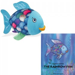 Rainbow Fish Plush and Hard Back Book Set