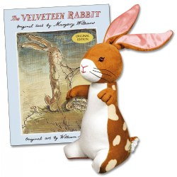 Velveteen Rabbit Plush and Hardback Book