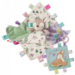 Taggies™ Flora Fawn Character Blanket & Crinkle Me