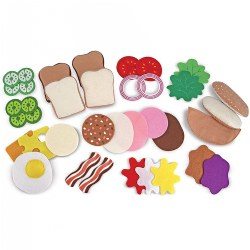 Felt Play Food - Sandwich Making Kit