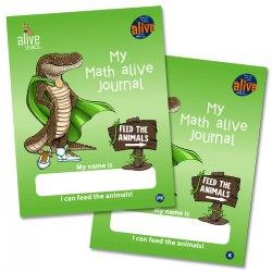 My Math Alive Journal - PreK and Kindergarten