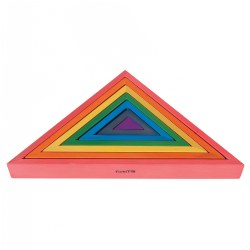 TickiT Rainbow Architect Triangles