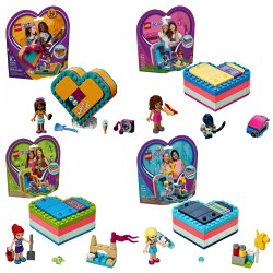 LEGO® Friends Summer Heart Box Set - Set of 4