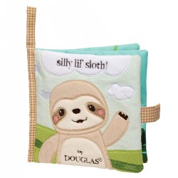 Silly Little Sloth Crinkle Cloth Activity Book