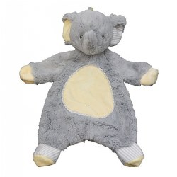 Cuddle Toys Sweet Little Gray Elephant Sshlumpie™