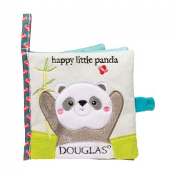 Happy Little Panda Crinkle Cloth Activity Book