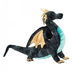 Aragon Dragon Plush - Navy