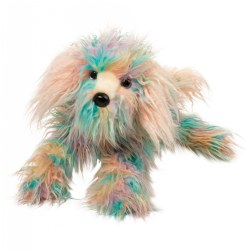 Jaxton the Rainbow Dog Fuzzle Plush