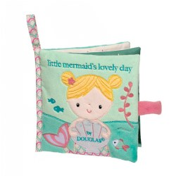 Little Mermaid Crinkle Cloth Activity Book