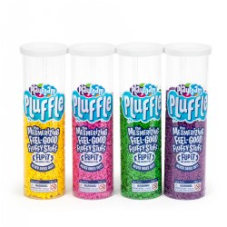 Playfoam Pluffle Bright Colors - 4 Pack