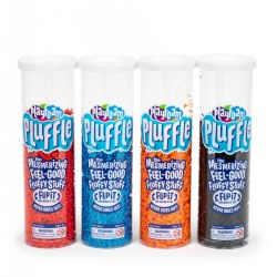 Playfoam Pluffle Basic Colors - 4 Pack