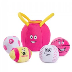 Plush My First Gym Bag and Talking Balls Set