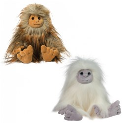 Sasquatch and Yeti Plush Set - Flo and Jurgen