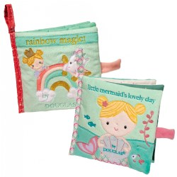 Little Mermaid and Rainbow Magic Crinkle Cloth Activity Book Set