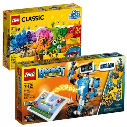 LEGO® BOOST Creative Toolbox and Bonus Building Kit