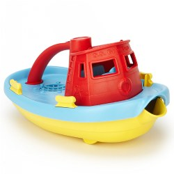 Eco-Friendly Tug Boat Red