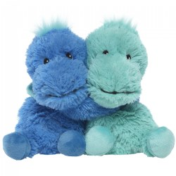 Warmies® Plush - Hugs Dinosaur 8.5""