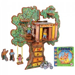 Arthur's Tree House 3D Puzzle - Book and Toy Set - 3 in 1 - Book, Build, and Play