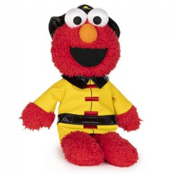 "Sesame Street Elmo The Fireman - Plush 11"" Elmo"