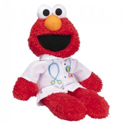 "Sesame Street Elmo The Doctor - Plush 11"" Elmo"