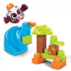 MEGA® BLOKS Peek-A-Blocks™ Panda Slide