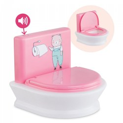 "Bebe Calin Interactive Toilet - Sizes 12"" - 14"" Doll"