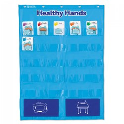 Healthy Hands Pocket Chart - Encourage Healthy Habits in the Classroom