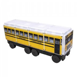 Kaplan School Bus Magna-Tiles® - CreateOn 123 School Bus