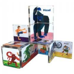 MAGNA-TILES® - Eric Carle From Head To Toe Building Set