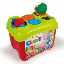 Baby Clemmy® Activity Box - 15 Soft Clemmy® Blocks