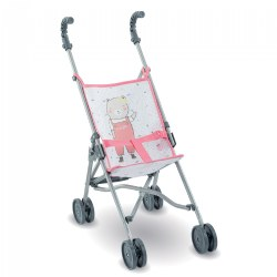 Umbrella Doll Stroller - Pink - Inspired by Stroller for Real Babies