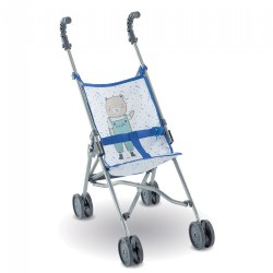 Umbrella Doll Stroller - Blue - Inspired by Stroller for Real Babies