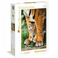 Bengal Tiger Cub - 500 Piece Puzzle - High Quality Collection