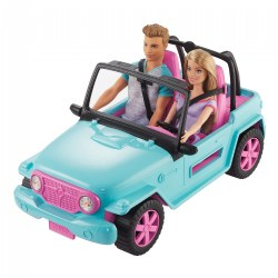 Barbie® and Ken with Off-Road Vehicle Playset