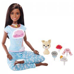 Dark Hair Breathe with Me Barbie® Meditation and Yoga Doll