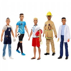 Barbie® Ken Doll Assistant - Career (1 Doll) - Styles May Vary
