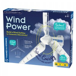 Wind Powered Turbine Kit - Generate Electricity