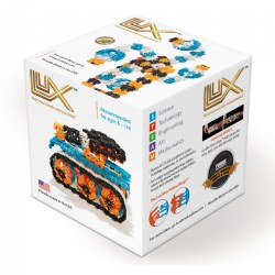 Lux Blox Max Freestyle Set 330 Pieces - Revolutionary Snapping Hinge Technology