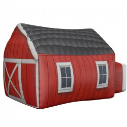 AirFort - Farmer's Barn Play Tent