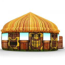 AirFort - Tiki Hut Play Tent