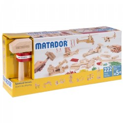 MATADOR Explorer E222 Wooden Construction Set