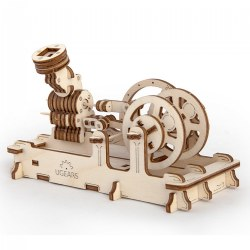 UGears Pneumatic Engine - Mechanical Model Kit