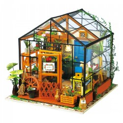 3D Wooden Puzzles - Miniature House: Cathy's Flower House