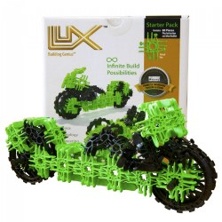 Lux Car & Motorcycle 2-in-1 Starter Pack - 80 Pieces