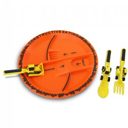 Constructive Eating Construction Themed Meal Accessories