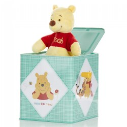 Winnie The Pooh Jack-in-The-Box Musical Toy