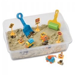 Creativity for Kids® Construction Zone Playset Sensory Bin