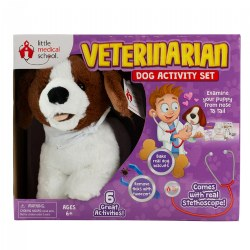 Little Medical School Veterinarian Dog Activity Set - 6 Great Activities