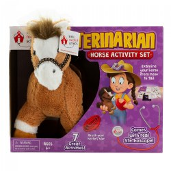 Little Medical School Veterinarian Horse Activity Set - 7 Great Activities