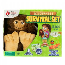 Little Medical School Wilderness Survival Set - 6 Great Activities